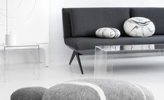 NOTI #modern #sofa #SofaBed from LCD collection #design by #RenataKalarus for #sleeping #SmallSpace #LivingRoom