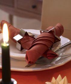 Сервировка новогоднего стола: салфетки - Ярмарка Мастеров - ручная работа, handmade