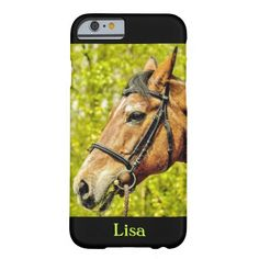 Horse - Name iPhone 6 Case Iphone Case Covers, Names, Horses, Horse