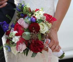 92 best red white blue wedding flowers images on pinterest blue vintage shades of red white blue were the order for the day for this truly patriotic wedding day mightylinksfo