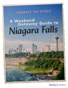 The thing about Niagara Falls is that it's hard to come here and miss the main event: Everything is set up to enjoy the falls.  Niagara Falls has been on my list of places to go for ages, so recently my boyfriend and I took a quick flight up on a Friday night, and spent two glorious days exploring all
