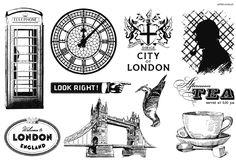 Artistic Outpost - London Elements