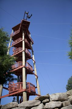 Mammoth Cave Adventures  Mammoth Cave Drop Tower is a 70 foot leap of faith.
