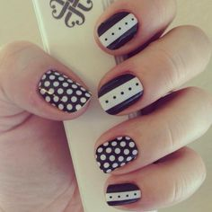 wearing: Madeline and Black and White Polka Dots To browse/order, please go to: kelseyjooie.jamberrynails.net Want a FREE sample? Email me at kelseyjooie@gmail.com