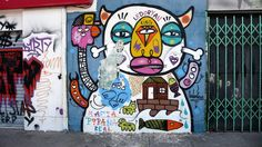ledoryan graffiti street art in santiago de chile
