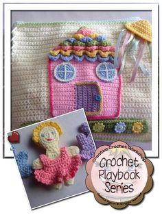 My Dollhouse Crochet Playbook A fun dollhouse themed 'quiet' crochet interactive playbook Get the parts separately FOR FREE or purchase the PDF version for only $5.00! Basic Material Re…