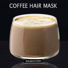 DIY Coffee hair mask to add highlights and softness