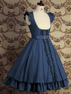 Series VII. Royal blue dresses by Mary Magdalene.
