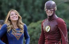 New SUPERGIRL/THE FLASH Crossover Set Pics Feature A Surprise Villain Team-Up