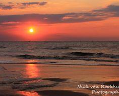 Sunset @ Scheveningen by ©Nick van Rookhuijzen