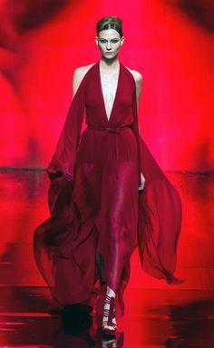 Donna Karan NYc fashion winter autumn 2014 2015 catwalk