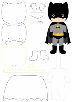 batman souvenir molds - Check out the best Batman molds to print, . - batman souvenir molds – Check out the best Batman molds to print, perfect for felt and EVA crafts - Felt Patterns, Applique Patterns, Diy With Kids, Easy Felt Crafts, Felt Templates, Applique Templates, Card Templates, Felt Toys, Felt Art
