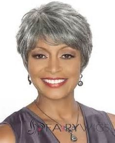 Surprising For Women Grey And Short Hairstyles On Pinterest Short Hairstyles Gunalazisus