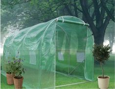 Quictent Galvanised 12x7x7 Large Walkin Fully Closed Greenhouse Garden Hot House -- Be sure to check out this awesome product.(This is an Amazon affiliate link and I receive a commission for the sales) #GreenhousesAccessories