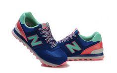 NEWBALANCE Navy Blue Womens Candy Running Shoes 574 - ShopGoo Online Store