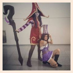 #lol #leagueoflegends #adc #support #caitlyn #and #lulu #gamescom #hat #butterfly #pips