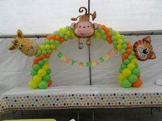 Safari baby shower#decoration#animals