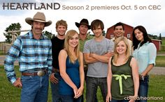 Heartland - The show is set on a horse ranch where a girl Amy helps cure distressed horses. One of my favourite shows. Heartland Season 2, Watch Heartland, Heartland Tv Show, Heartland Ranch, Heartland Mallory, Heartland Quotes, Newest Tv Shows, Favorite Tv Shows, Favorite Things