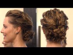 Jennifer Lawrence's Golden Globe Braided Updo