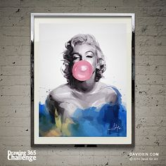 """""""If I'd observed all the rules I'd never have got anywhere."""" -Marilyn Monroe Day 7"""