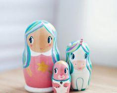 Nesting dollsFamily Matryoshka DollsPortrait Nesting от theroomba