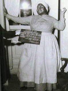 Hattie McDaniel's wardrobe test for Gone With the Wind