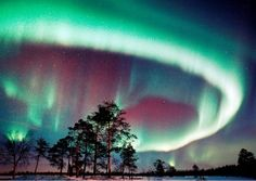 Would love to see the  Aurora borealis someday!