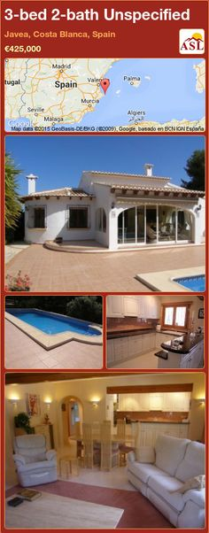 3-bed 2-bath Unspecified in Javea, Costa Blanca, Spain ►€425,000 #PropertyForSaleInSpain