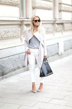 classic coach bags outlet q5ao  Grey Basic Shirt