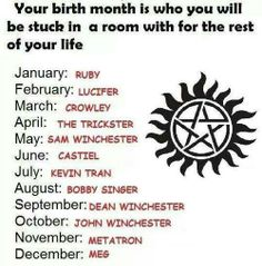 Metatron? Oh I would so kill him. He's an angel so hopefully there's a angel sword there