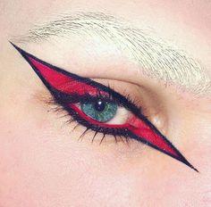 red eye make up