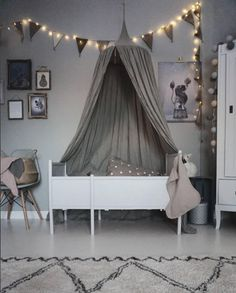 A gorgeous home in grey tones. We are big fans of grey for a kid's room but grey works so well for the entire home. It's a calming colour that oozes style . Girl Room, Girls Bedroom, Deco Kids, Kids Room Design, Fashion Room, Of Wallpaper, My New Room, Colorful Interiors, Room Decor