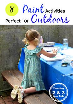 8 paint activities that are perfect for outdoors