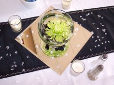 Summer Thyme Floral - Wedding Portfolio: green, champagne and black. Love all of these ideas