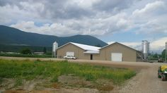 Westman Steel - Coleman Barns - Salmon Arm, BC