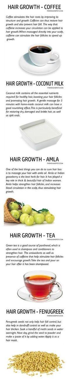 Natural hair growth remedies