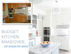 9 secrets to a budget-friendly kitchen makeover