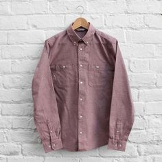 Carhartt Hermann Shirt Cordovan