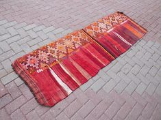 Check out this item in my Etsy shop https://www.etsy.com/listing/571028809/striped-kilim-runner-rug-colorful-runner