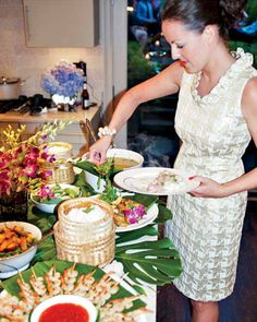 Photos of a Thai-Themed Party - Get More Entertaining Tips and Recipes - Elle