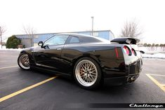 Another GTR with BBS wheels.  I don't even want to know how much these are.