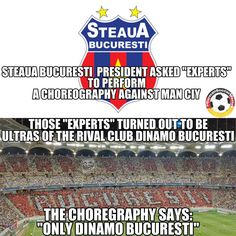 The mother of all trolls from FC DINAMO BUCURESTI!