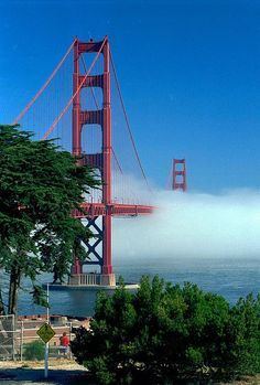 The Golden Gate Bridge, San Francisco, California; photo by Arthur Mullis