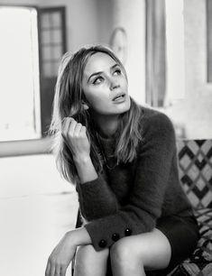 Emily Blunt by Josh Olins Vogue UK November 2016
