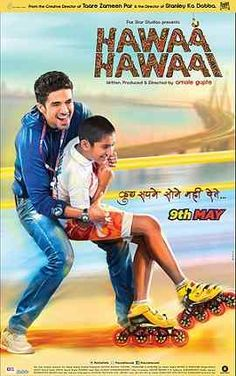 Hawaa Hawaai is a 2014 Bollywood film directed by Amole Gupte. The film features Partho Gupte and Saqib Saleem. This is a commercial entertainer, and a tribute to people who dare to dream. Saqib Saleem played role of a skating coach in the film. Movies 2014, Imdb Movies, Movies Free, Hindi Movies Online, Bollywood Posters, Bollywood Gossip, Bollywood News, Hollywood, Full Movies Download