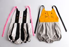 Kid's sewing pattern pdf kid's romper / overalls ... cool idea will have to make these.