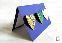 Valentine's card Valentines, Cards, Diy, Valentine's Day Diy, Bricolage, Valentines Day, Do It Yourself, Maps, Valentine's Day