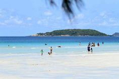 หาดน้ำใส สวย ถูก และดี ใกล้กรุงแค่นี้ ไม่ควรพลาด! http://goo.gl/bjTjRf