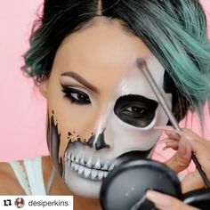 Halloween tutorial  IG:desiperkins | #makeup