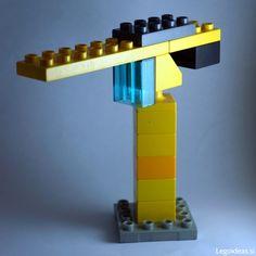 Hier siehst du einen kleinen Baukran aus LEGO® Duplo, der uns von BRICKaddict.de gefällt!